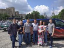 Виставка ретро транспорту в Харкові