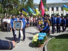 Відкриття  пам'ятника гетьману  Сагайдачному
