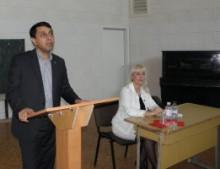 Зустріч Другого секретаря Посольства Туркменістану Г. Гараєва з туркменськими студентами
