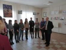 Відкриття виставки-конкурсу студентських робіт на художньо-графічному факультеті