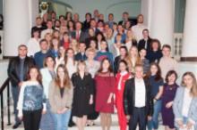 Урочиста зустріч докторантів, аспірантів першого року навчання з керівництвом університету