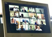 Перша зустріч робочої групи з вивчення і узагальнення досвіду ЗВО Харківської області щодо використання дистанційних форм навчання та визначення шляхів впровадження змішаного навчання у 2020-2021 навчальному році