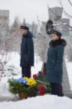 Відкриття пам'ятного знаку загиблим студентам