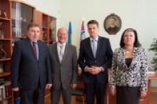 Зустріч з  делегацією Генерального Консульства Республіки Польща у Харкові