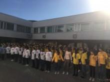 """Всеукраїнський студентський флешмоб """"Україна єдина"""""""