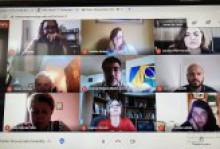 Дистанційні переговори про потенційне співробітництво між ХНПУ імені Г.С. Сковороди та Бразильським університетом MID-WEST STATE UNIVERSITY – UNICENTRO