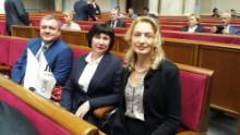 Участь у парламентських слуханнях на тему: «Збалансований розвиток людського капіталу в Україні: завдання освіти і науки»