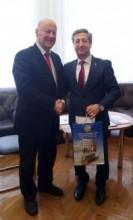 Зустріч з Почесним Консулом Республіки Албанія в місті Харкові