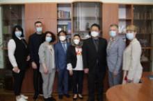 Зустріч з головою Корейського освітнього центру